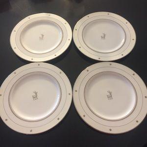 Kate Spade Lenox Set 4 Donner Road Tidbit Plates